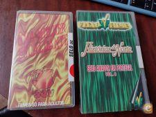 Filmes Eróticos 2 unidades VHS