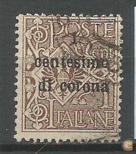 ÁUSTRIA - Ocupação Italiana de Trieste - Scott #N64  / 127F