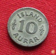 Islândia Iceland 10 aurar 1942 KM# 1a   *V2T