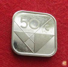 Aruba 50 cents 1987 KM# 4  Lt 342   *V