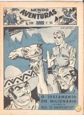 MUNDO DE AVENTURAS - Nº 365 de 09/08/1956