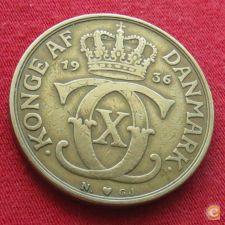 Dinamarca 2 kroner 1936 w