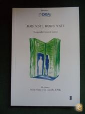Mais poste, menos poste - Margarida Fonseca Santos (Novo)