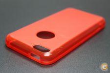 Capa iPhone 5C Gel Vermelho *Entrega 24h!!