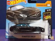 FILA-2018 HOT 142-365 15 MERCEDES-AMG GT PRETO NOVO+