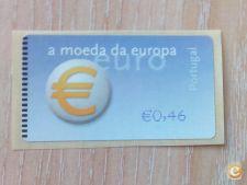 PORTUGAL - AFINSA 23C  ETIQUETA 0.46 EUR  NOVO MNH