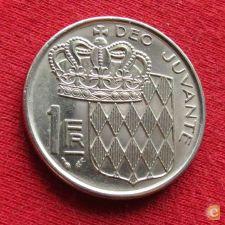 Monaco 1 franc 1982 w