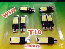 LED T10 W5W 6w 6500k