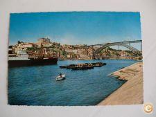 Postal Porto Ponte de D.Luiz Vista de Vila Nova de Gaia