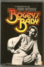 Cinema BOGART Lauren BACALL Biografia Ilustrada 1978