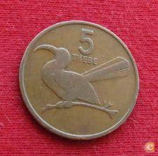 Botswana Botsuana 5 thebe 1981 KM# 4   *V1