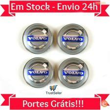 Z229 4 Centros Jante Volvo 64mm XC90 XC70 XC60 V40 V50 V60
