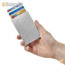 Porta-Cartões em Alumínio