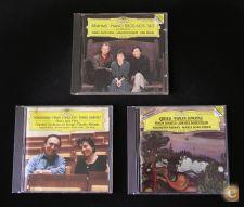 Lote 3 CD - BRAHMS, SCHUMANN, GRIEG. Deutsche Grammophon.