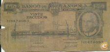 ANGOLA - 20 ESCUDOS - 1962 - TOMÁS - 3CO474083 - MAU ESTADO