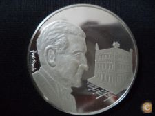 Medalha Salazar . Prata / Proof . José Berardo