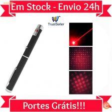 Z198 Ponteiro Laser 5km alcance 5mW 532nm + Ponteira Estrela