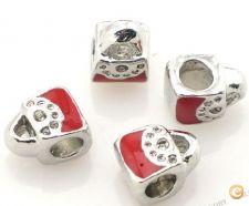 Conta charme mala com prata pra pulseira marca conhecida