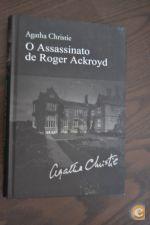 Agatha Christie O Assassinato de Roger Ackroyd Edições Asa