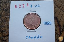 1-Centime_CANADA_1989                           A/R= [ 6221]