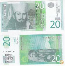 Servia 20 Dinara 2006 P 47 UNC