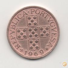FILA- 1969 PORTUGAL $50 CENTAVOS