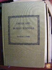 Gibbs, Sharon L. GREEK AND ROMAN SUNDIALS. RELÓGIOS DE SOL