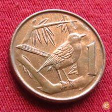 Cayman Ilhas Caimão 1 cent 1996 KM# 87a    *V