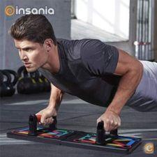 Plataforma de Musculação Dobrável 12-em-1
