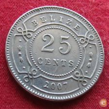 Belize 25 cents 2007 KM# 36   *V