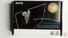 Alfa adaptador wireless AWUS036NHR 2000mW usb antena 5 dbi