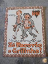 ZÉ PACÓVIO E GRILINHO - NÚMERO UNICO - PORTUGAL PRESS.  1974