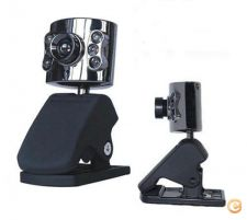 Camara, webcam X5 Tech, USB, com luz led