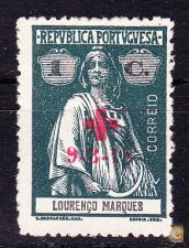 CRUZ VERMELHA . PORTUGAL - 9-3-1918,  Ceres . 1 C.