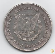 AMERICA DO NORTE 1 SILVER DOLLAR PRATA 1921