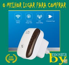 Repetidor Wifi Router Amplificador 300 Mbps 802.11B / G / N
