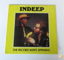 INDEEP - The Record Keeps Spinning (MAXI SINGLE)