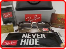 STOCK - Oculos Sol Ray Ban ClubMaster RB 3016 - Castanhos