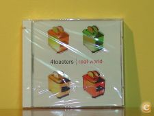 4 TOASTERS - REAL WORLD (cd SINGLE)