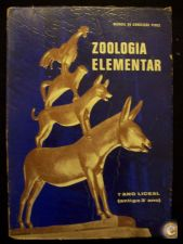 ZOOLOGIA ELEMENTAR  1º ANO LICEAL - 1972