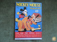 Postal-Mickey Mouse Magazine
