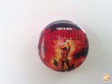 MANOWAR Kings Of Metal pin