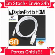 L223 Cabo Displayport Mini Display Microsoft Surface Pro 24h