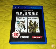 METAL GEAR HD COLLECTION PS VITA