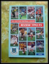 The Scottish Football League Review 1992-1993 Sport Projects