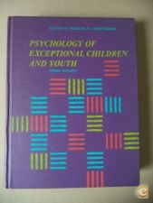 Psychology of exceptional children and youth