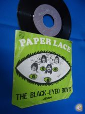 PAPER LACE - THE BLACK EYED BOYS - PORTUGAL 45 SINGLE