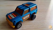 MAJORETTE MOTORS VINTAGE - JEEP POLICE 4X4    MADE FRANCE