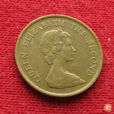 Hong Kong 10 cents 1983 KM# 49