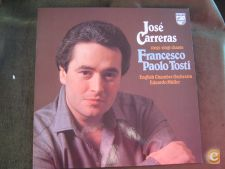 José Carreras-Sings Francesco Paolo Tosti-Opera-LP 33 rpm